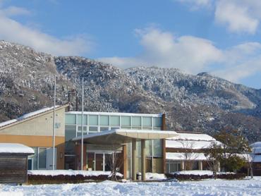 雪のコミュニティセンター
